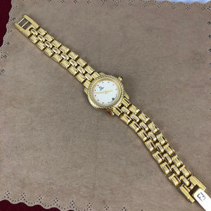 Fendi Accessories - Vintage Fendi 660L18 Karat GP Date Watch